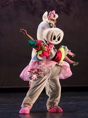 Want a hippopotamus for Christmas? Check out Alabama Dance Theatre's production of Mistletoe.