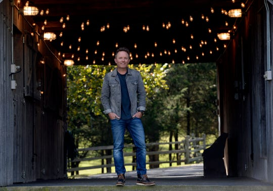 """Christian singer Chris Tomlin has a new album, """"Holy Roar,""""and companion book. """"I'm always trying to write songs that help people worship God,"""" he said. """"This record and this book, it's all about helping people just lift their voice and lift their eyes and be inspired."""""""