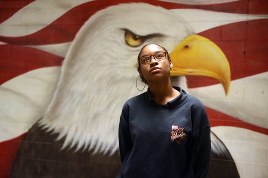 Erica Williams 17, is a senior at Eastside High School in the School of Government and Public Administration.