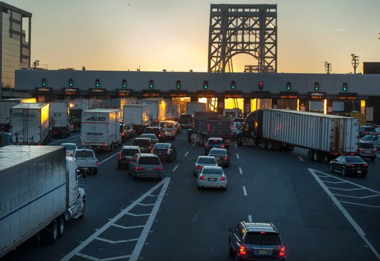 Morning Traffic at George Washington Bridge