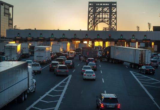 Morning Traffic at George Washington Bridge