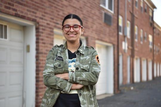 Lola Barreras, a student at Tenafly High School