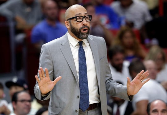 David Fizdale has been shuffling the New York Knicks' lineups.