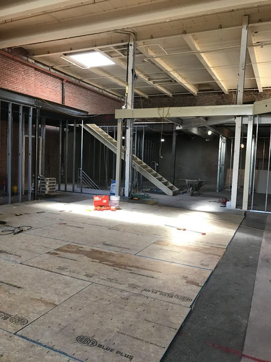 The big space that will house French brasserie Faubourg