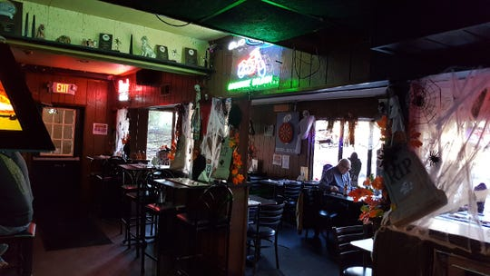 The Dog House Saloon is an unpretentious bar