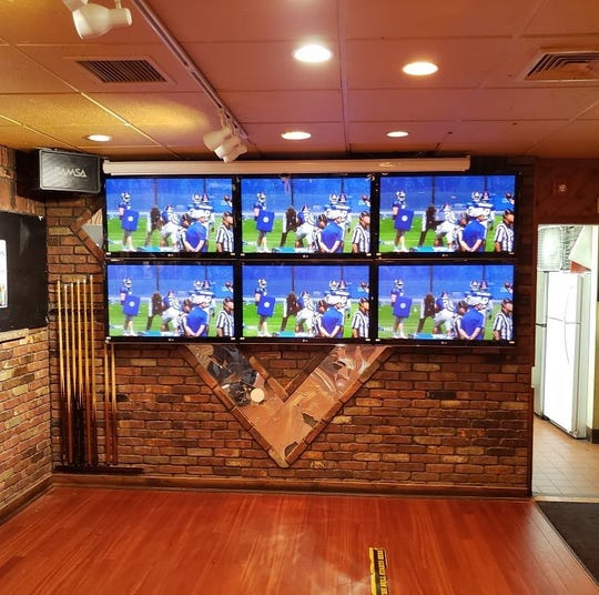 New TVs installed at The Rock Bar & Grill in Clifton
