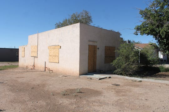 The owner of the structure at 1501 Cuba Avenue signed the property over to the City to be torn down. The structure is scheduled for demolition beginning March 4.