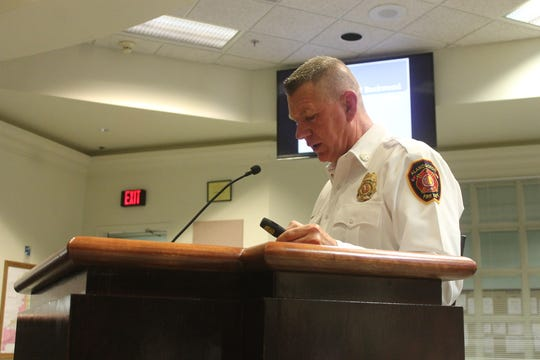 Alamogordo Fire Department Chief Jim LeClair told Commissioners on Oct. 23 that most of the removed structures were in the central part of the City, and that many were damaged by fire and occupied by squatters.