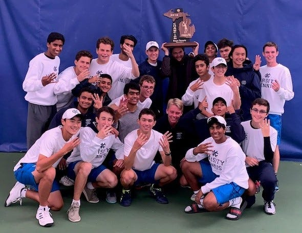 Cranbrook Kingswood captured its fourth straight Division 3 boys tennis state championship over the weekend in Novi.