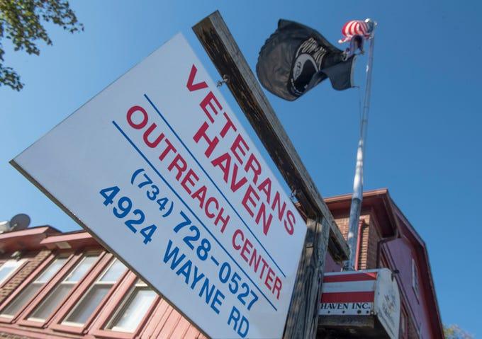 Veterans Haven started 25 years ago in Vietnam Veteran Vince Berna's apartment.