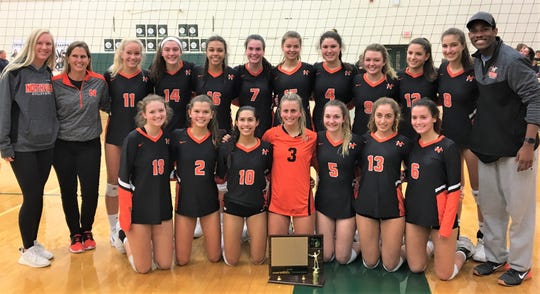 The Northville girls volleyball team earned the KLAA tournament and West Division titles this season.