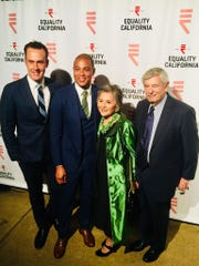 Tim Malone Equality Visibility Award Honoree , Don Lemon and Barbara and Stewart Boxer