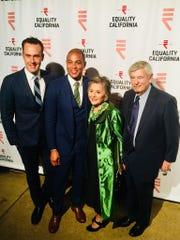 Tim Malone Equality Visibility Award Honoree , Don Lemon and Barbara and Stewart Boxer