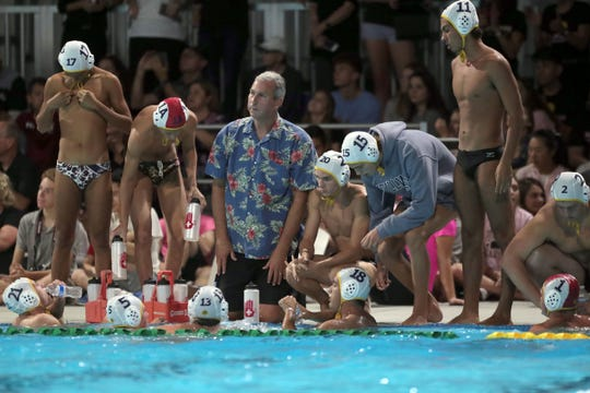 Xavier Prep beat La Quinta 12-10 for the Desert Empire League water polo title on Wednesday, October 24, 2018 at Cathedral City High School.