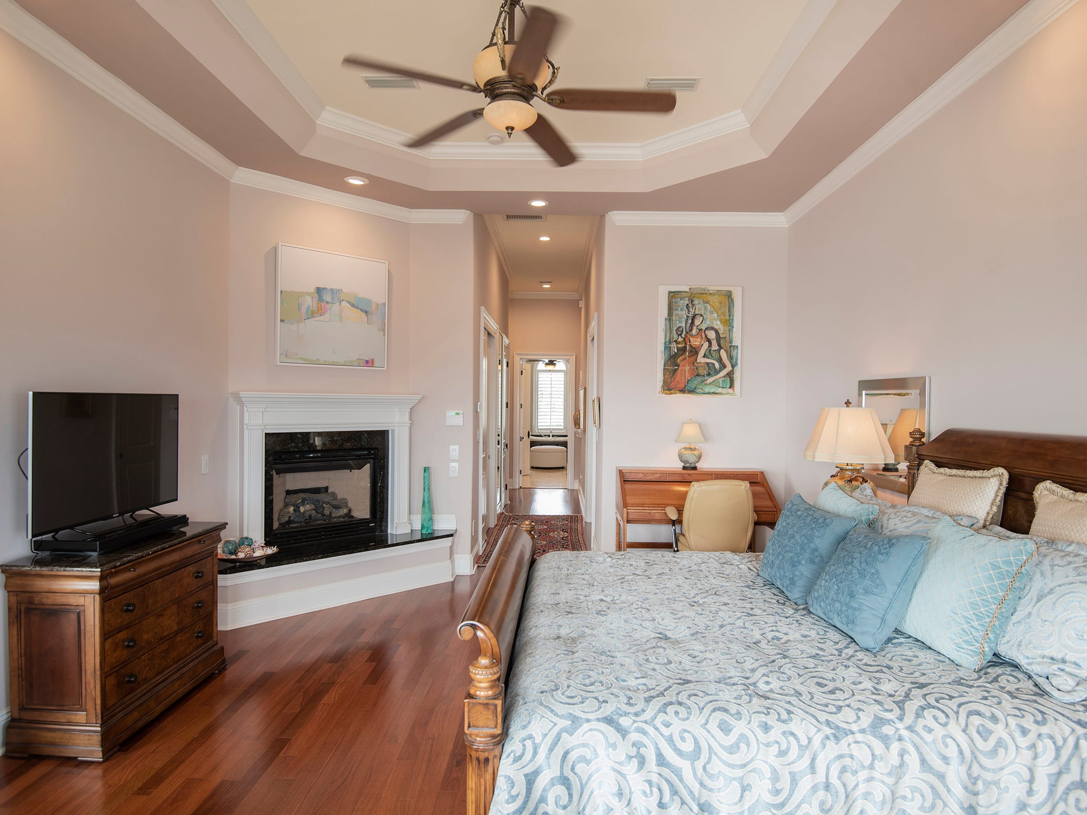 5 Colley CoveThe master suite is spacious and an in-home getaway.