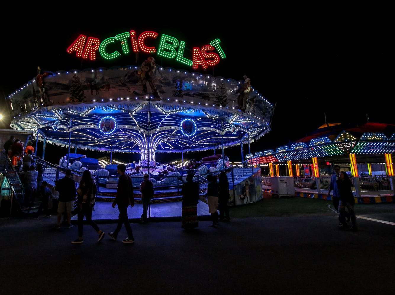 Scenes from the 84th annual Pensacola Interstate Fair on Monday, October 22, 2018.