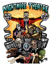 "A new logo was created for the 2018 reiteration of ""Nightmare Theatre."""