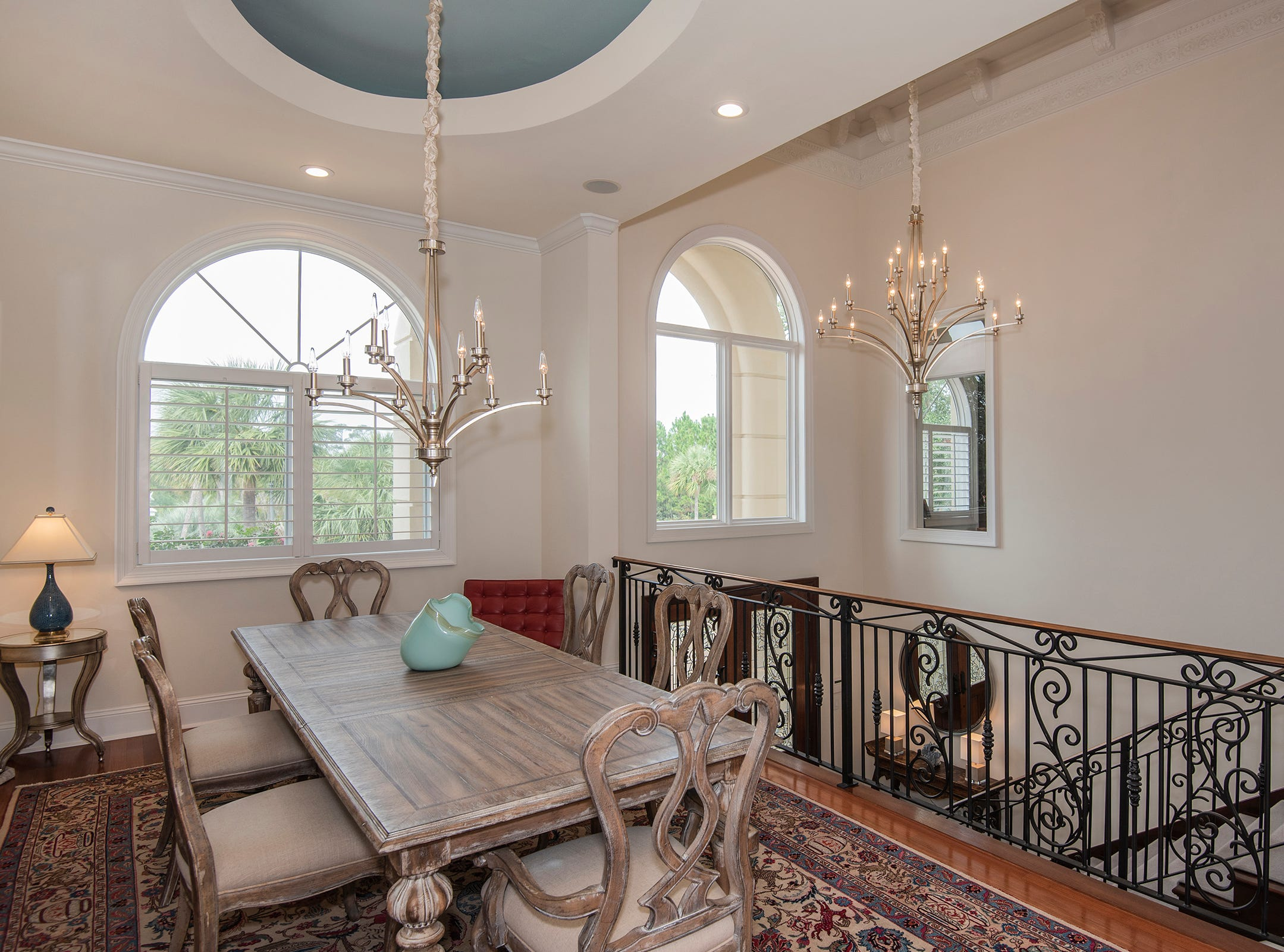 5 Colley CoveThe elegant formal dining space.