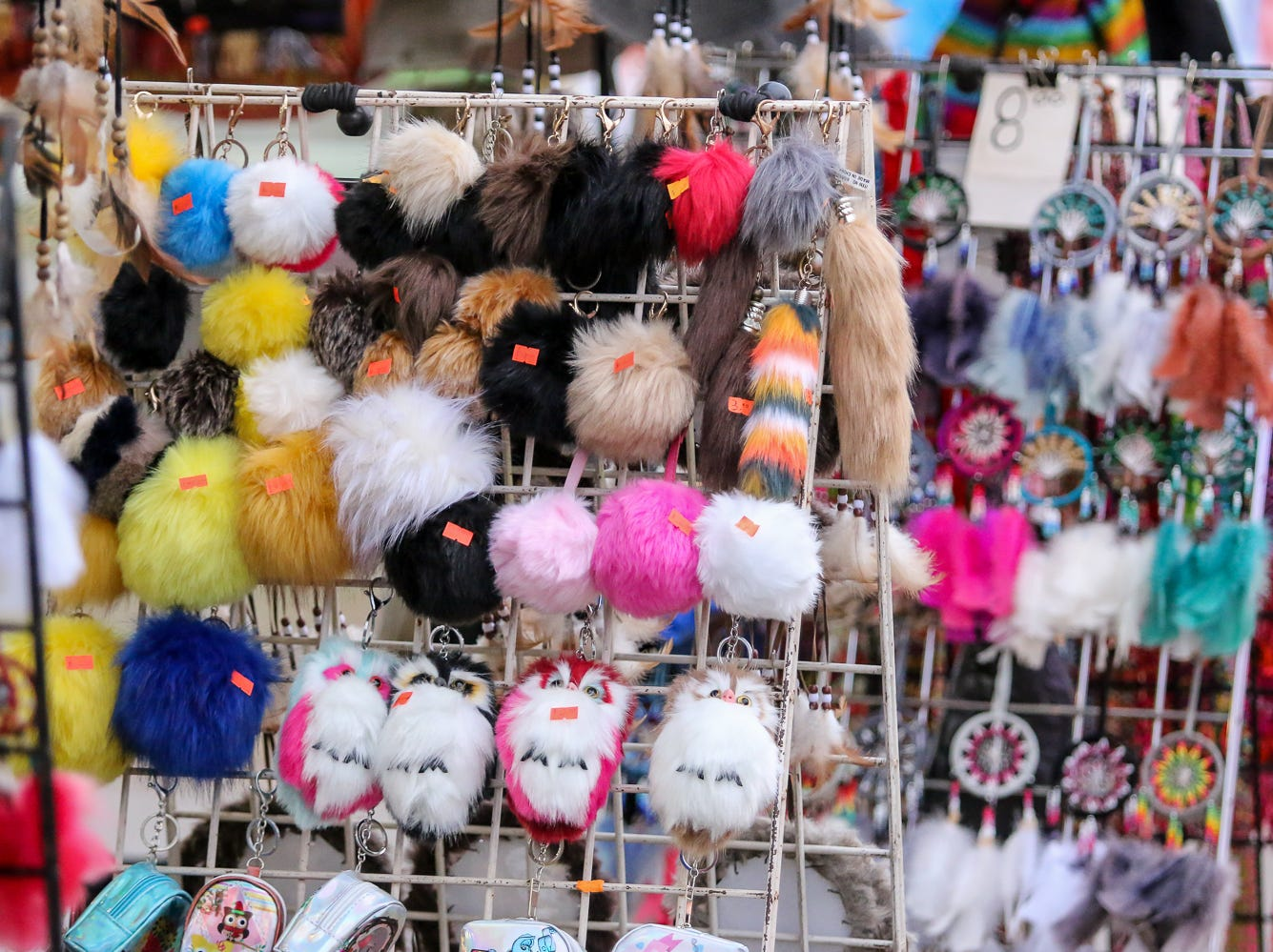 Some of the items for sale during the 84th annual Pensacola Interstate Fair on Monday, October 22, 2018.