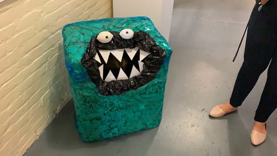 """A box decorated to look like the Cookie Monster will be one of the games available to those who come out to the Pensacola Museum of Art's third annual """"Spooktacular"""" event on Saturday."""