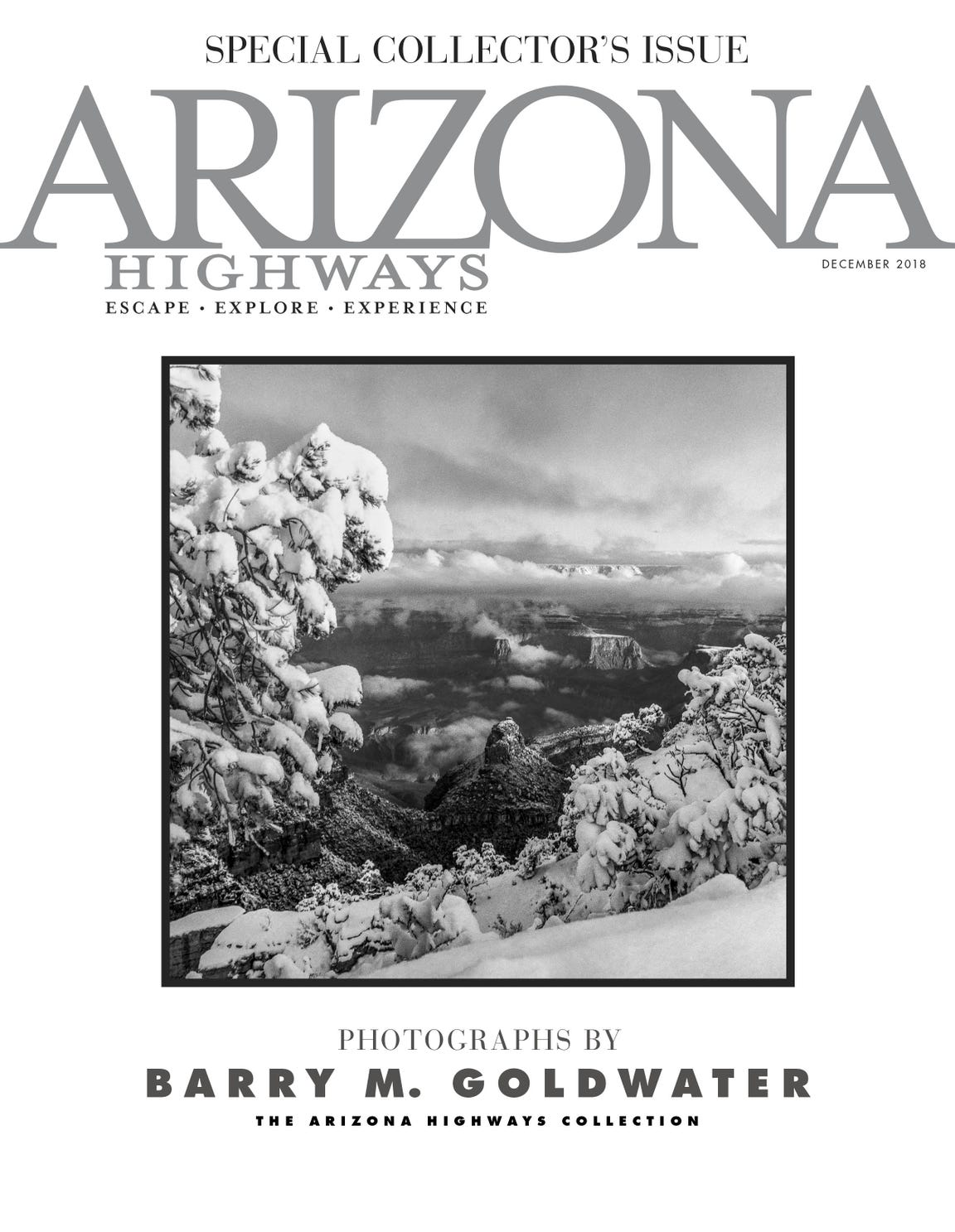 The Barry Goldwater photography issue by Arizona Highways.