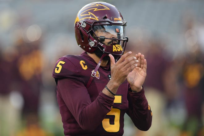 Can Manny Wilkins lead the ASU Sun Devils to an upset of USC Saturday? Check out the predictions for the Pac-12 game.