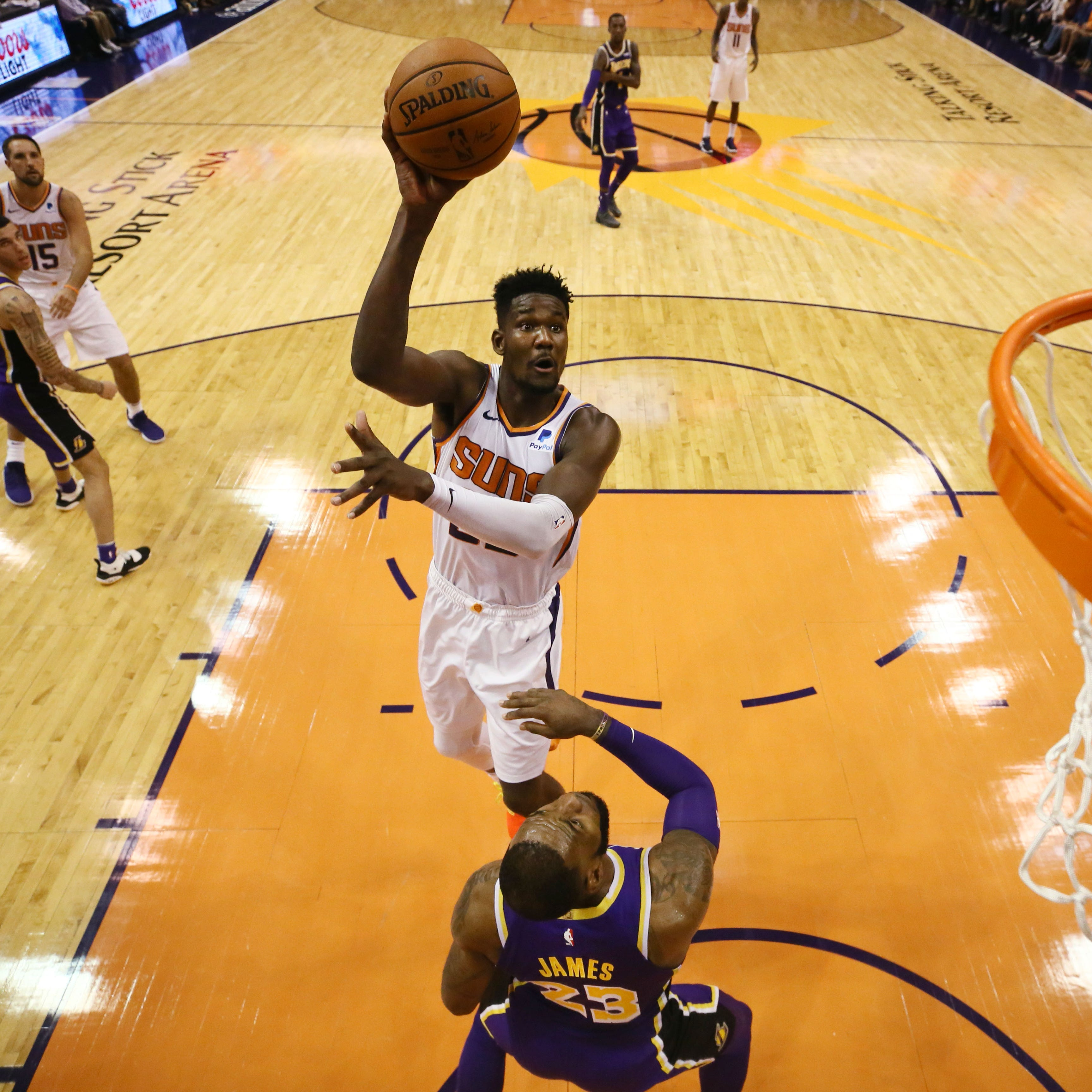 Phoenix Suns rookie Deandre Ayton: 'Losing is not the way I go'