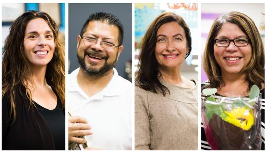Reconocen a maestros latinos en Arizona.