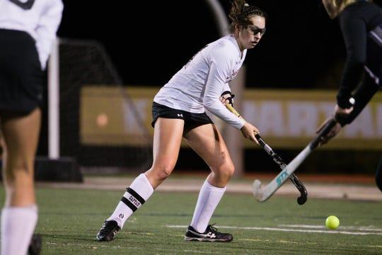 Lauren Wadas scored four goals in Palmyra's 8-0 win Wednesday night.