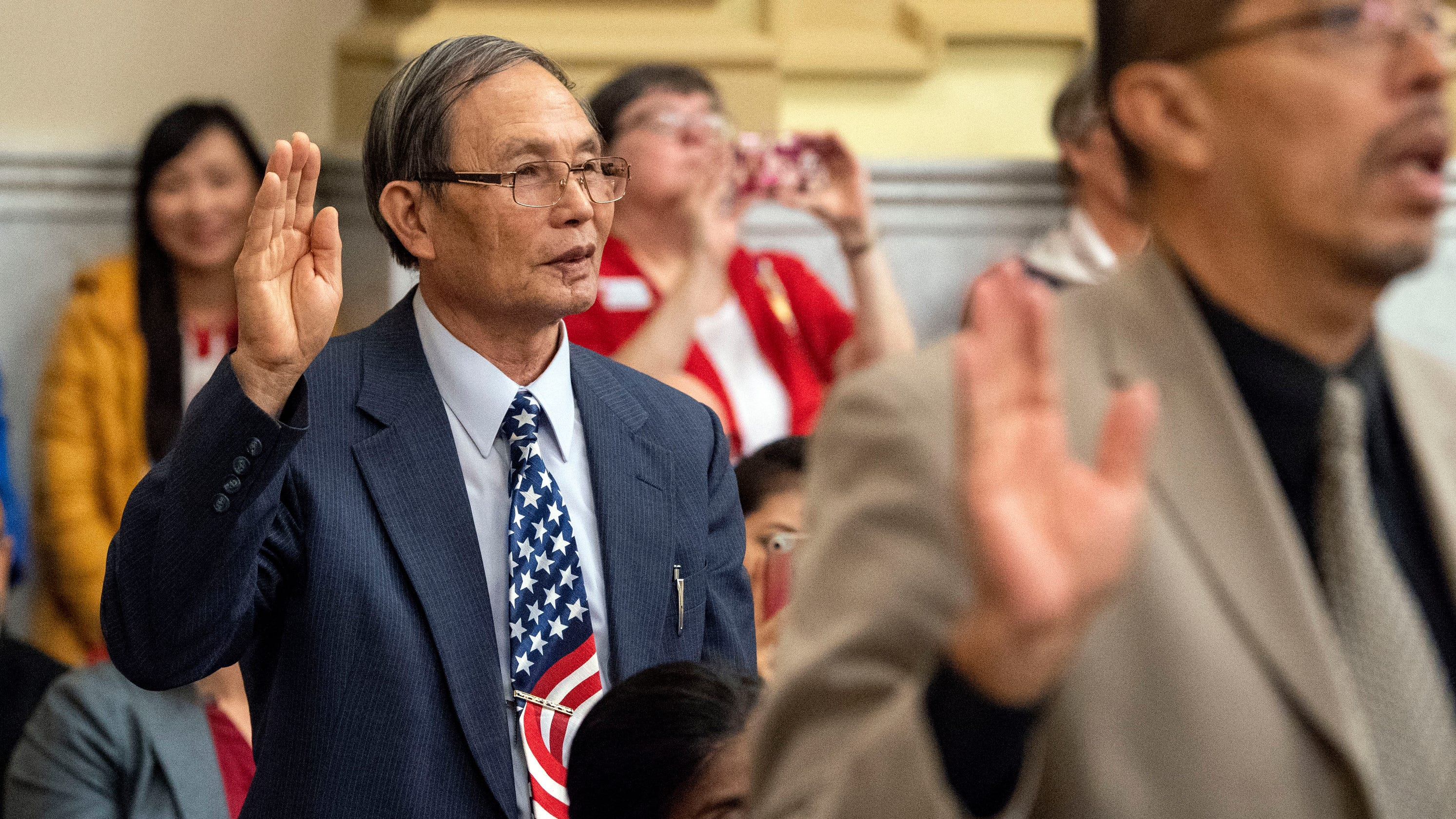 Finally American: 49 become naturalized citizens in York County