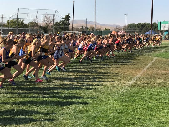 The girls 4A Regional cross country race is at 10:35 a.m. Friday at Rancho San Rafael.