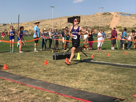 Daniel Horner is one of the top boys runners in the Northern 4A.