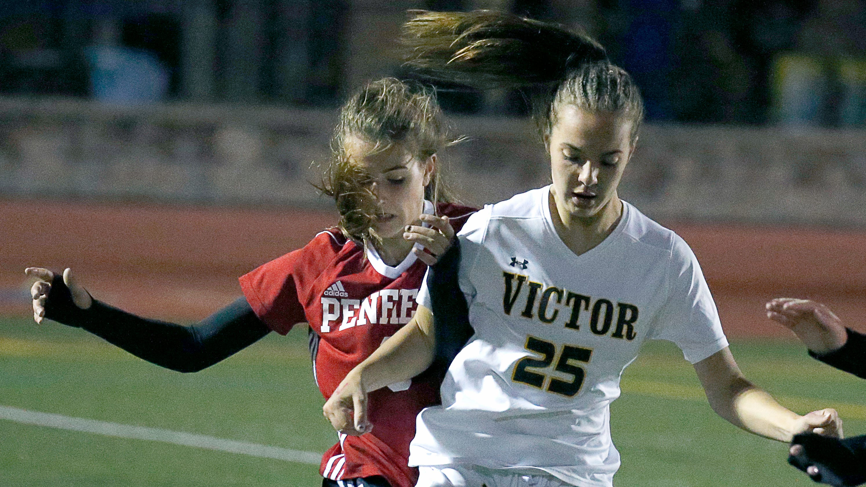 abfe3b9042c0 Girls soccer  Penfield 4 - Victor 3