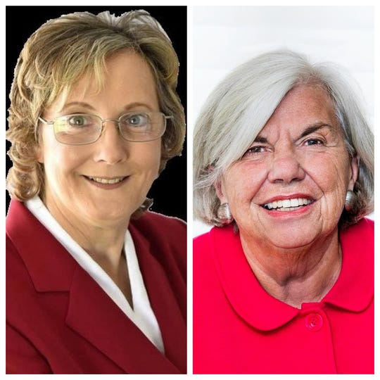 Marjorie Byrnes and Barbara Baer face off in the race for the 133rd Assembly District.