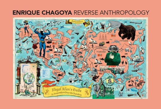 """""""Enrique Chagoya: Reverse Anthropology, From the Collections of Jordan D. Schnitzer and His Family Foundation"""" is a new exhibition at the Hallie Ford Museum of Art at Willamette University."""