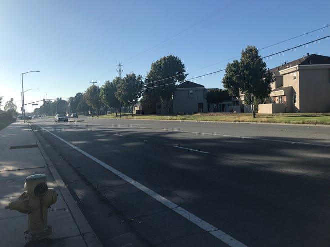 Alvin Drive near North Main Street