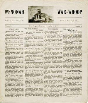 Wenonah War-Whoop, Nov. 8, 1919.