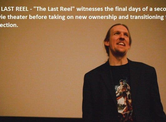 """The Last Reel"" dir. Christopher Lange"