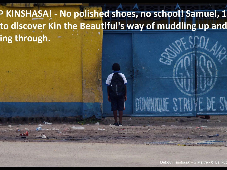 """""""Get Up Kinshasa!"""" dir. Sebastien Maitre"""