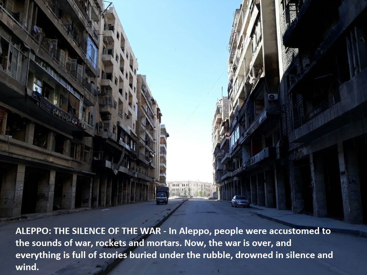 """Aleppo: The Silence of the War"" dir. Amir Osanlou"