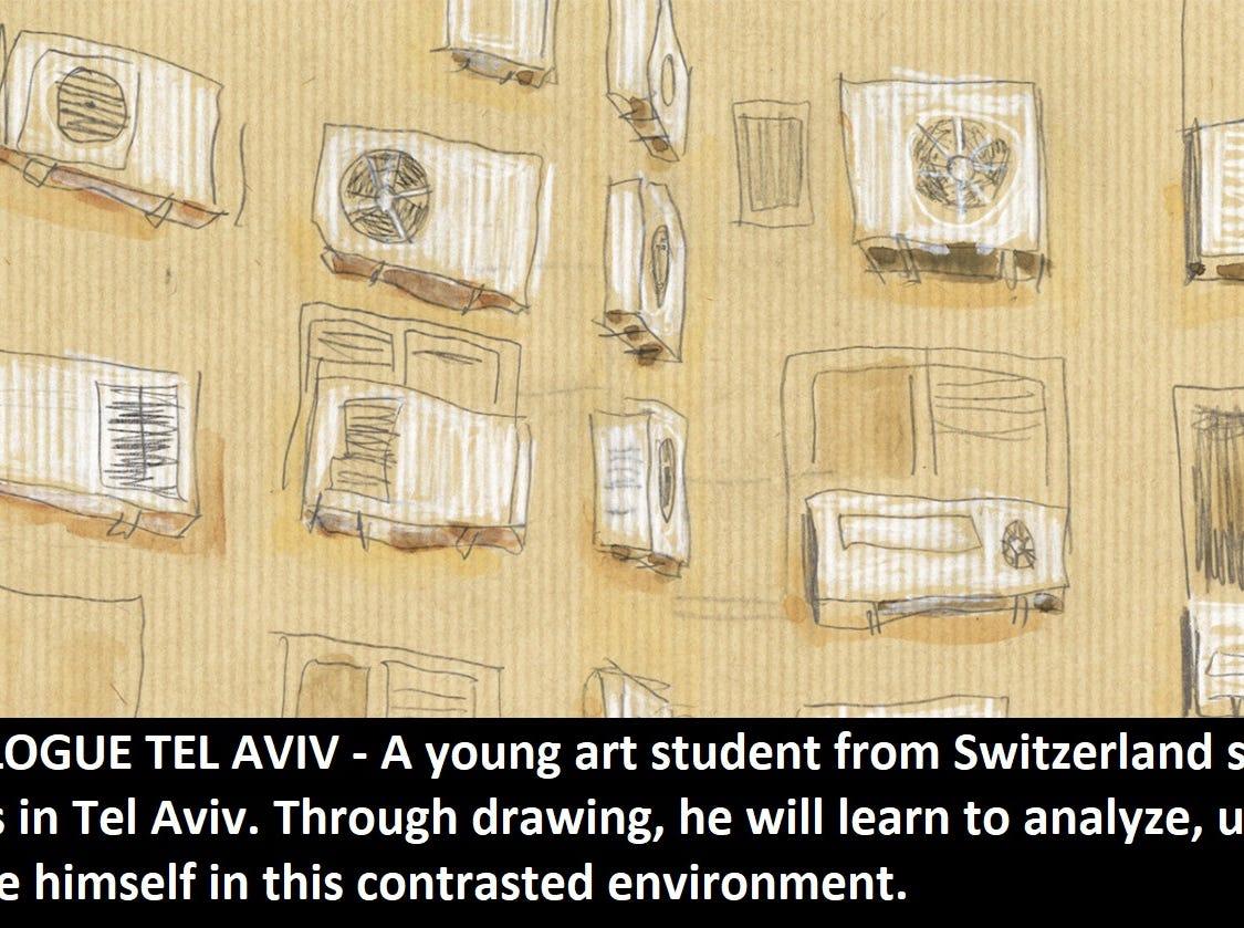"""Travelogue Tel Aviv"" dir. Samuel Patthey"
