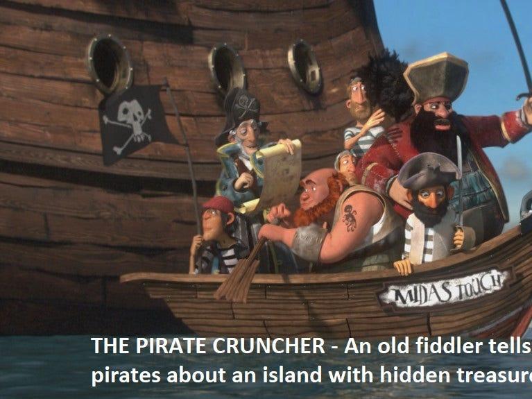 """""""The Pirate Cruncher"""" dir. Paul Conner"""