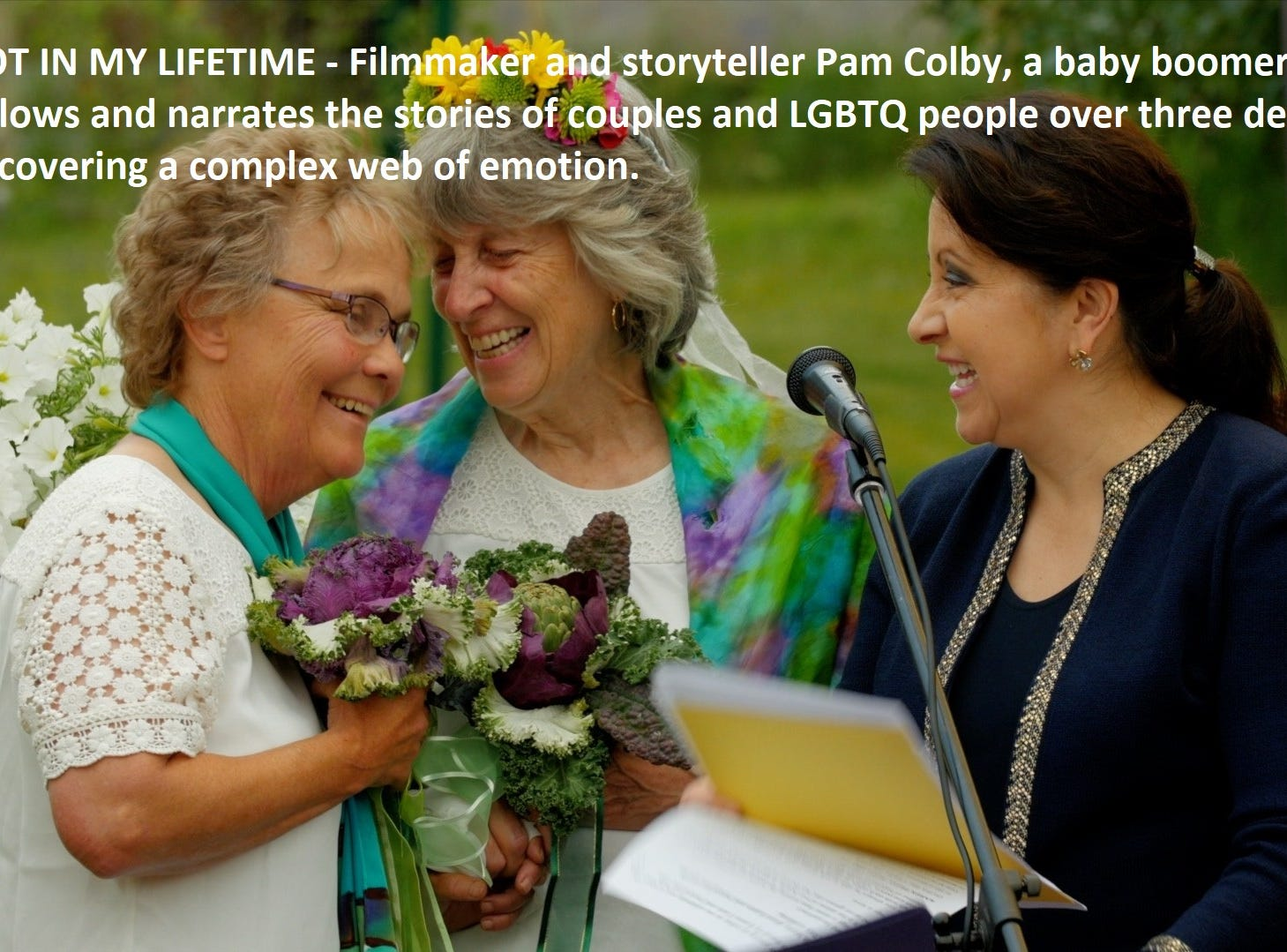 """""""Not in My Lifetime"""" dir. Pam Colby"""