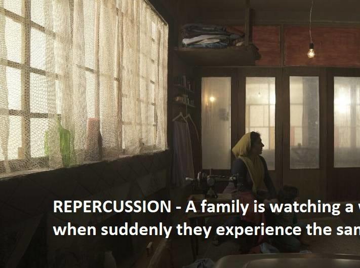 """Repercussion"" dir. Negin Homayounpour"