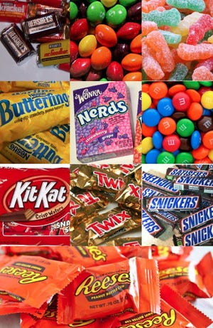 The Candystore.com blog compiled a list of the worst and best Halloween candy. Butterfinger, Nerds and Snickers made the best list.