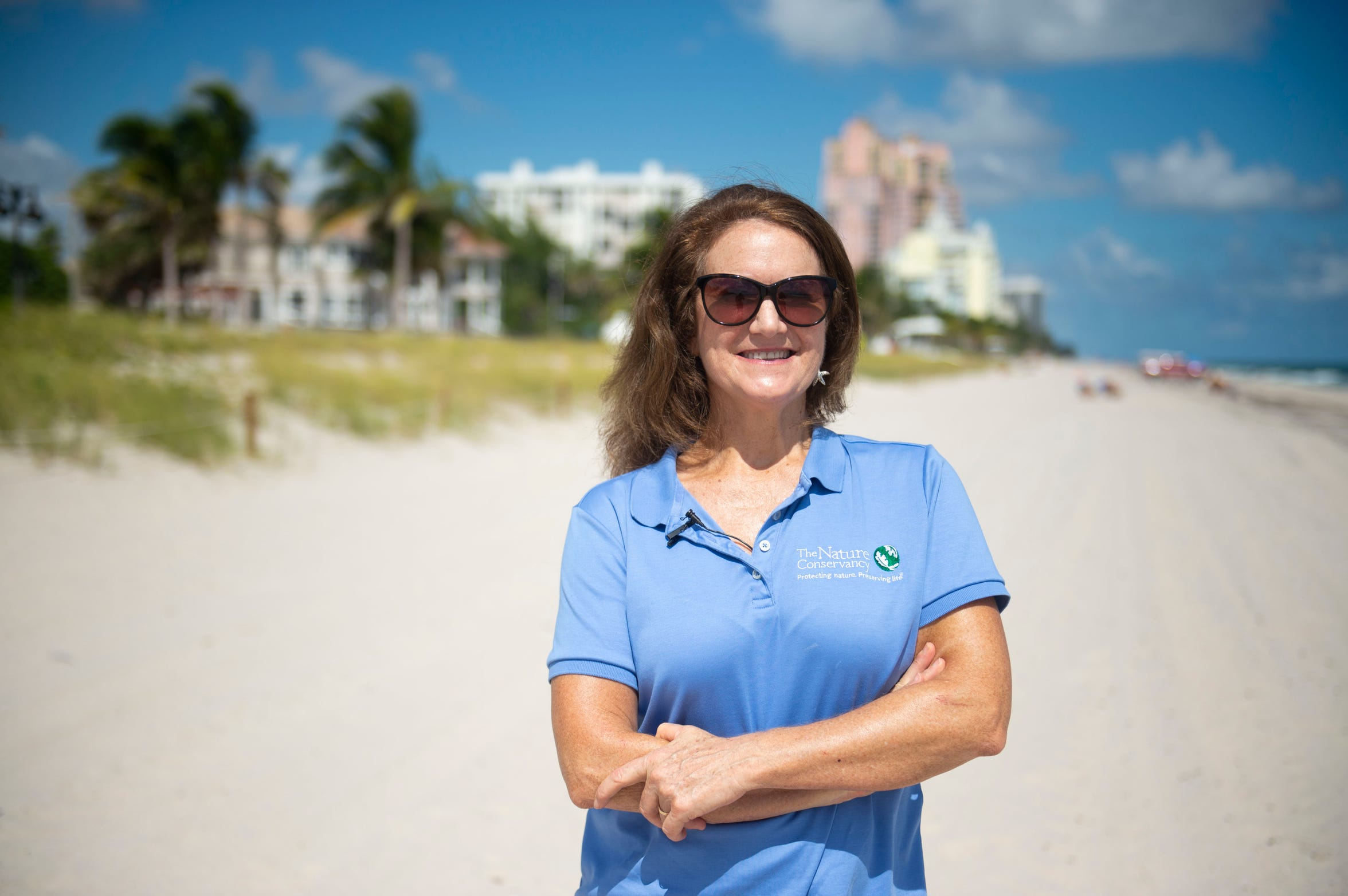 "Laura Geselbracht, 59, of Fort Lauderdale, is a senior marine scientist at The Nature Conservancy who is concerned about climate change, sea level rise and coastal resiliency this election year. Geselbracht hopes to see individuals, all levels of governments, corporations and small businesses making an effort to battle climate change. ""It's amazing what we can accomplish when we put our mind to it. But if we're just avoiding the problem, that's not helping anybody over the long term,"" she said."