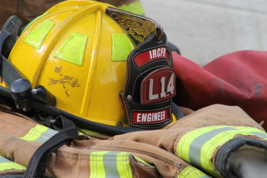 The gear worn by IRC Fire Rescue.
