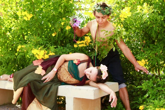 "Shakespeare on the Rocks will present ""A Midsummer Night's Dream"" Nov. 3-4."
