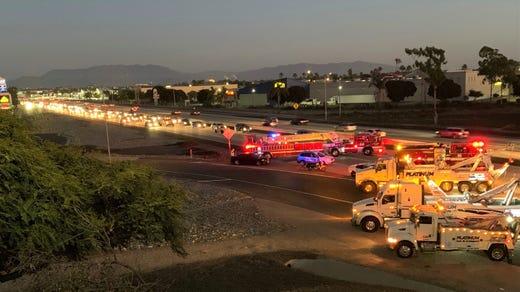 Hours after Oxnard crash, northbound 101 reopens