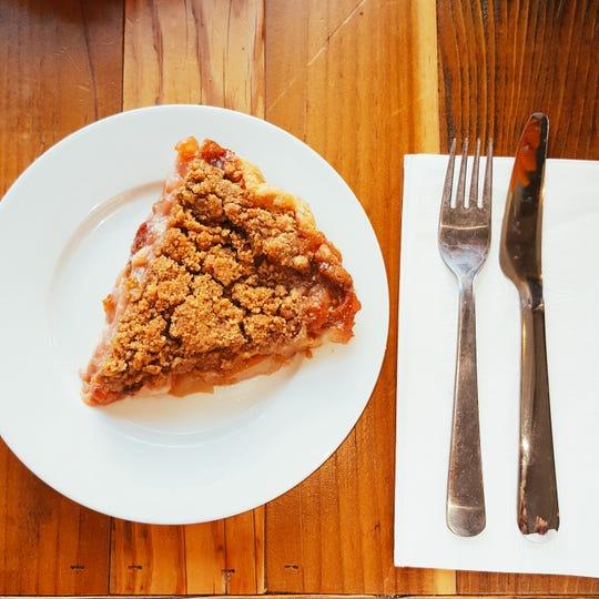 Fall Pie from Nutmeg Cafe in Tuckahoe.